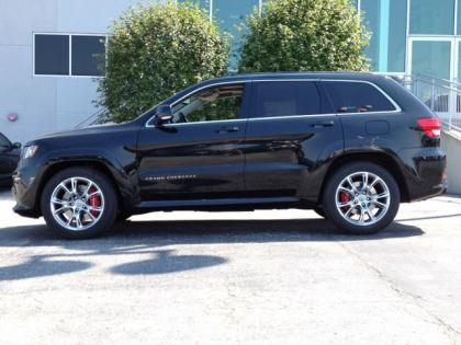 2013 JEEP GRAND CHEROKEE SRT-8 - BLACK ON BLACK 2