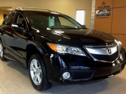 Export New 2013 Acura Rdx Base Silver On Black