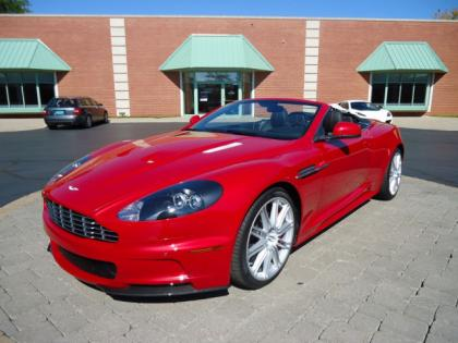 2012 ASTON MARTIN DBS BASE - RED ON BLACK 1