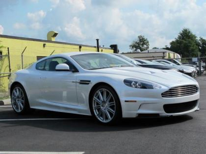 2012 ASTON MARTIN DBS BASE - WHITE ON BLACK