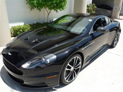 2012 ASTON MARTIN DBS BASE - BLACK ON BLACK