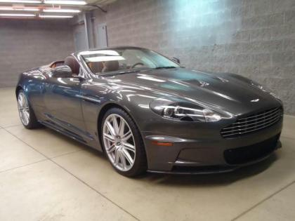 2012 ASTON MARTIN DBS VOLANTE - SILVER ON BROWN