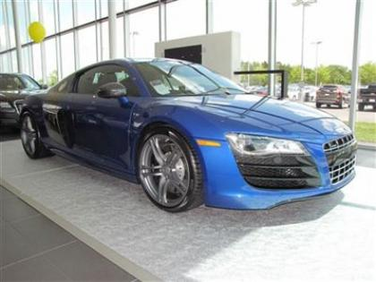 2012 AUDI R8 QUATTRO - BLUE ON BLACK 1