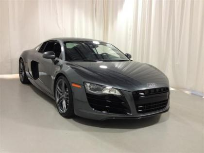 2012 AUDI R8 5.2 QUATTRO - GREY ON BLACK