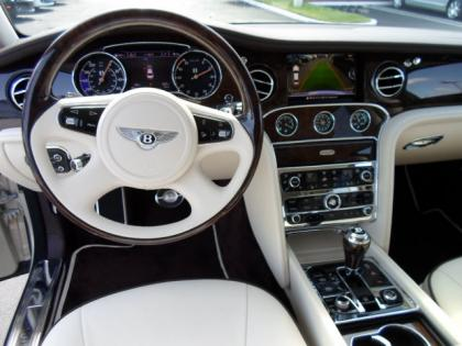 Export New 2012 Bentley Mulsanne Base Porcelain On White