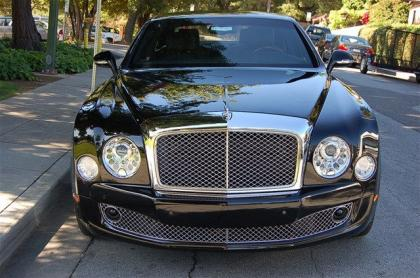 2012 BENTLEY MULSANNE BASE - BLACK ON BLACK 2