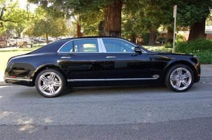 2012 BENTLEY MULSANNE BASE - BLACK ON BLACK 3