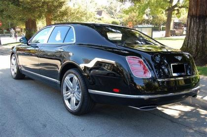 2012 BENTLEY MULSANNE BASE - BLACK ON BLACK 4