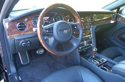 2012 BENTLEY MULSANNE BASE - BLACK ON BLACK 5