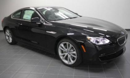 2012 BMW 640 I - BLACK ON BLACK 1