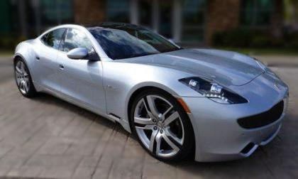 2012 FISKER KARMA ECOCHIC - SILVER ON WHITE 1