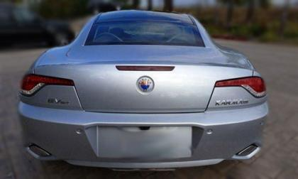 2012 FISKER KARMA ECOCHIC - SILVER ON WHITE 3