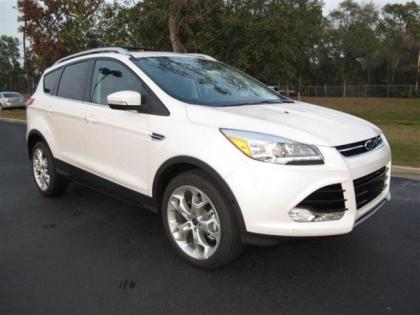 Export New 2013 Ford Escape Sel White On Black