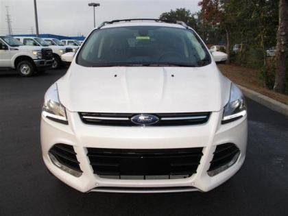 2013 FORD ESCAPE SEL - WHITE ON BLACK 2