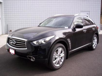 2012 INFINITI FX35 AWD - BLACK ON BLACK