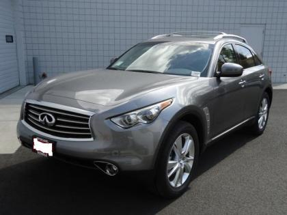2012 INFINITI FX35 AWD - GRAY ON BLACK 1