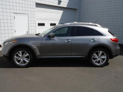 2012 INFINITI FX35 AWD - GRAY ON BLACK 2