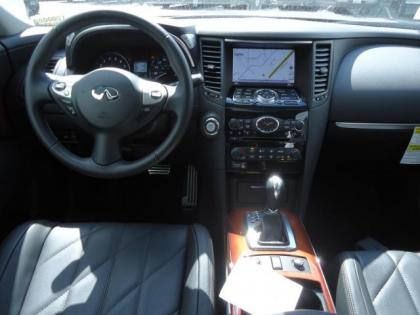 2012 INFINITI FX35 AWD - GRAY ON BLACK 6