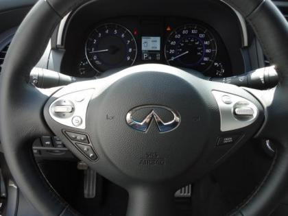 2012 INFINITI FX35 AWD - GRAY ON BLACK 8