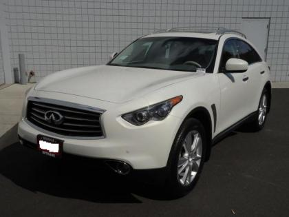 2012 INFINITI FX35 AWD - WHITE ON BEIGE