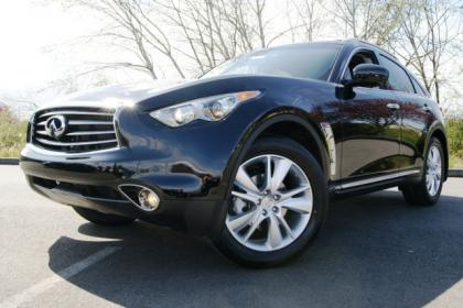 2012 INFINITI FX35 BASE - BLACK ON BLACK 1