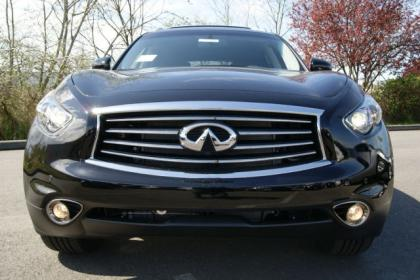 2012 INFINITI FX35 BASE - BLACK ON BLACK 2