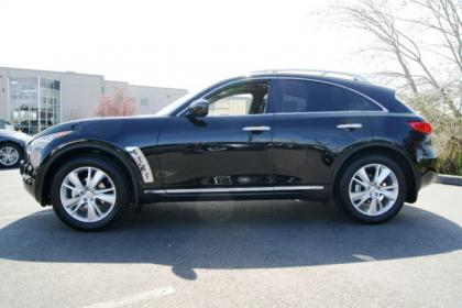 2012 INFINITI FX35 BASE - BLACK ON BLACK 3