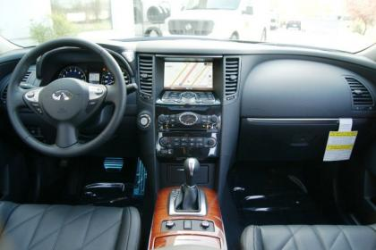 2012 INFINITI FX35 BASE - BLACK ON BLACK 4