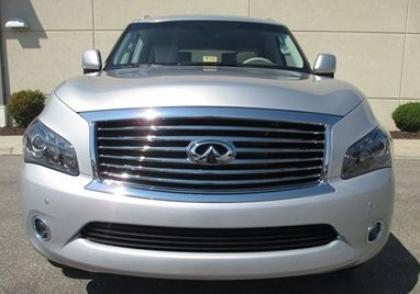 2012 INFINITI QX56 AWD - SILVER ON BEIGE 2