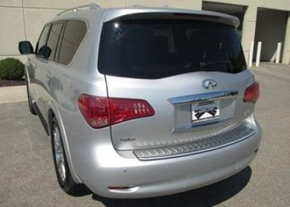 2012 INFINITI QX56 AWD - SILVER ON BEIGE 5