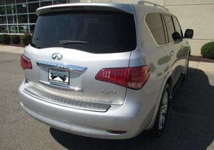 2012 INFINITI QX56 AWD - SILVER ON BEIGE 7