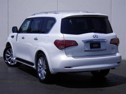 2012 INFINITI QX56 BASE - WHITE ON BEIGE 3