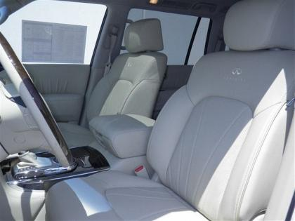 2012 INFINITI QX56 BASE - WHITE ON BEIGE 6