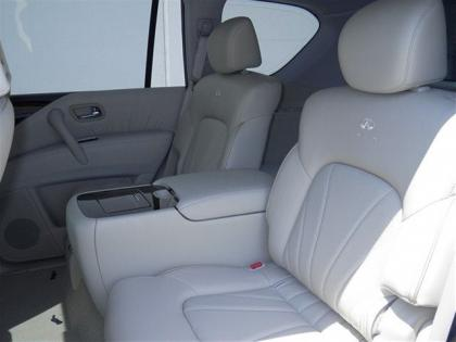 2012 INFINITI QX56 BASE - WHITE ON BEIGE 7