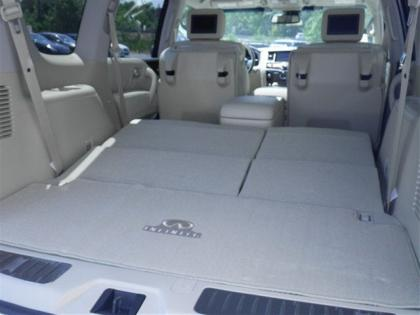 2012 INFINITI QX56 BASE - WHITE ON BEIGE 8
