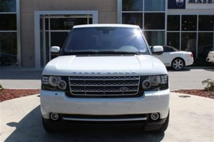 2012 LAND ROVER RANGE ROVER SC - WHITE ON BEIGE 2