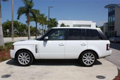 2012 LAND ROVER RANGE ROVER SC - WHITE ON BEIGE 3