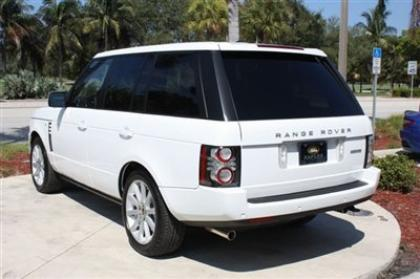 2012 LAND ROVER RANGE ROVER SC - WHITE ON BEIGE 4