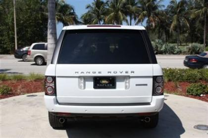 2012 LAND ROVER RANGE ROVER SC - WHITE ON BEIGE 5