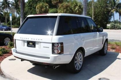 2012 LAND ROVER RANGE ROVER SC - WHITE ON BEIGE 7