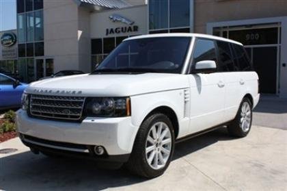 2012 LAND ROVER RANGE ROVER SC - WHITE ON BEIGE 8