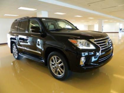 2013 LEXUS LX570 BASE - BLACK ON BEIGE