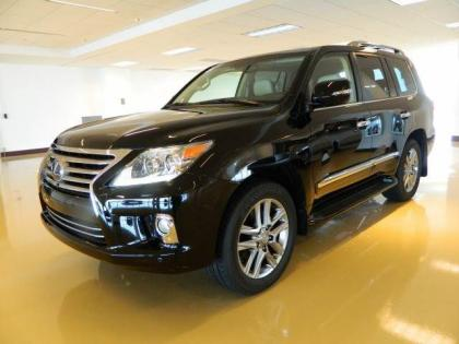 2013 LEXUS LX570 BASE - BLACK ON BEIGE 2