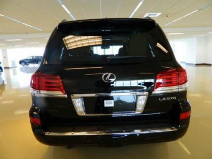 2013 LEXUS LX570 BASE - BLACK ON BEIGE 3
