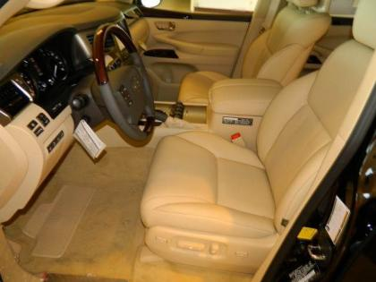 2013 LEXUS LX570 BASE - BLACK ON BEIGE 5