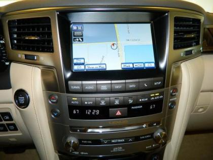 2013 LEXUS LX570 BASE - BLACK ON BEIGE 7
