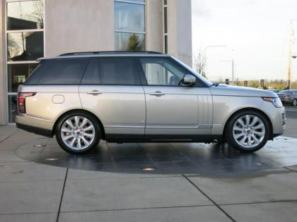 2013 LAND ROVER RANGE ROVER SUPERCHARGED - SILVER ON BEIGE 3