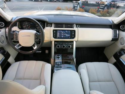 2013 LAND ROVER RANGE ROVER SUPERCHARGED - SILVER ON BEIGE 7