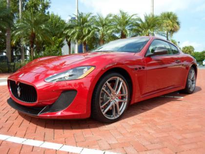 2012 MASERATI GRAN TURISMO MC - RED ON BLACK