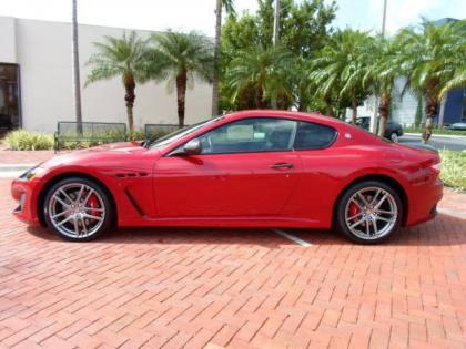 2012 MASERATI GRAN TURISMO MC - RED ON BLACK 3